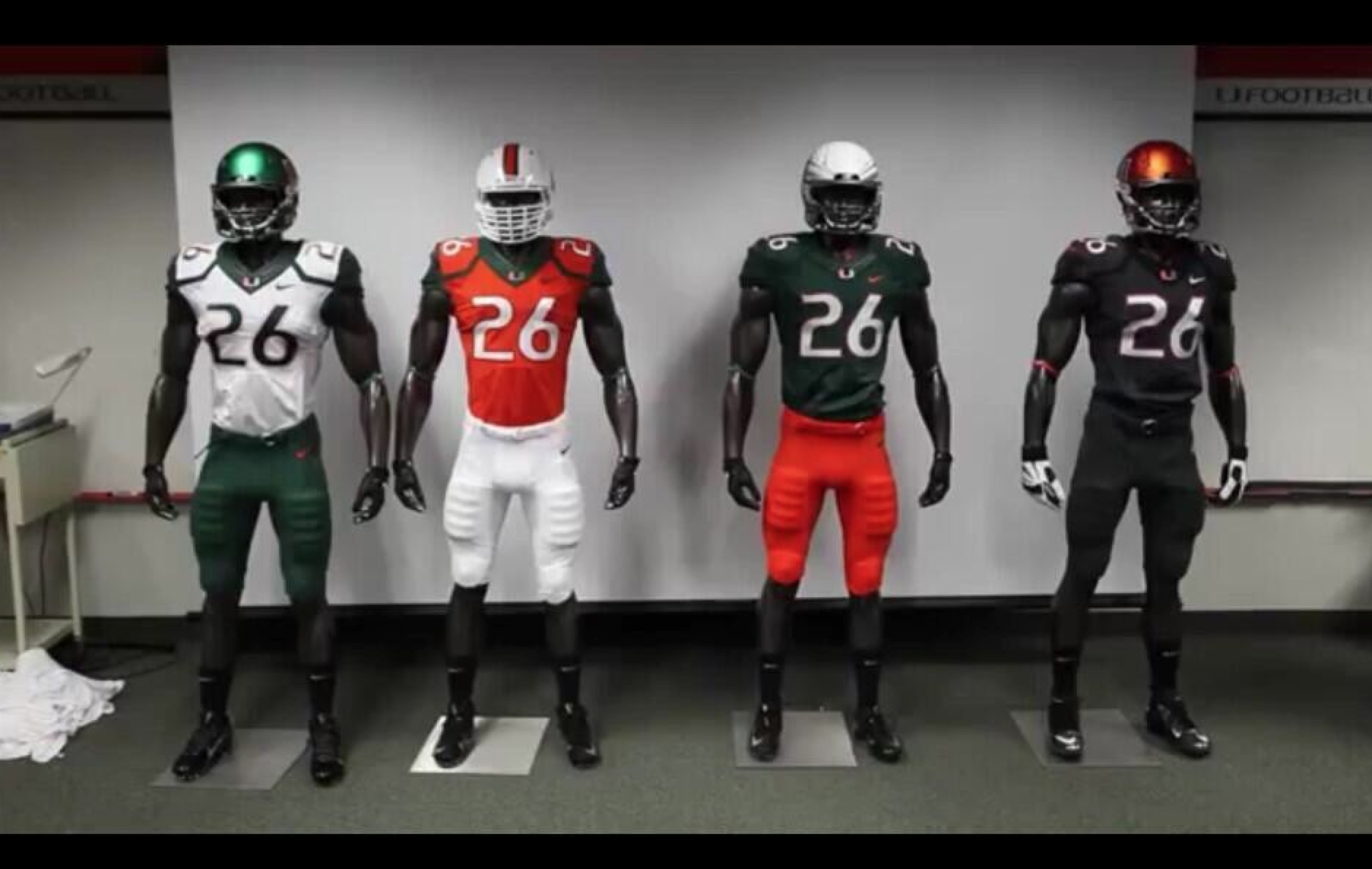 new style 51aa6 d9c0b University of Miami Unveils New Football Uniforms ...